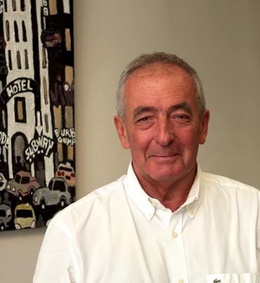 Jean-Claude Saugues fondateur de l'agence Immobilière 43 au Puy-en-Velay