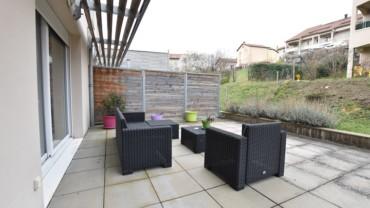 T.3 + jardin et parking privés Résidence récente