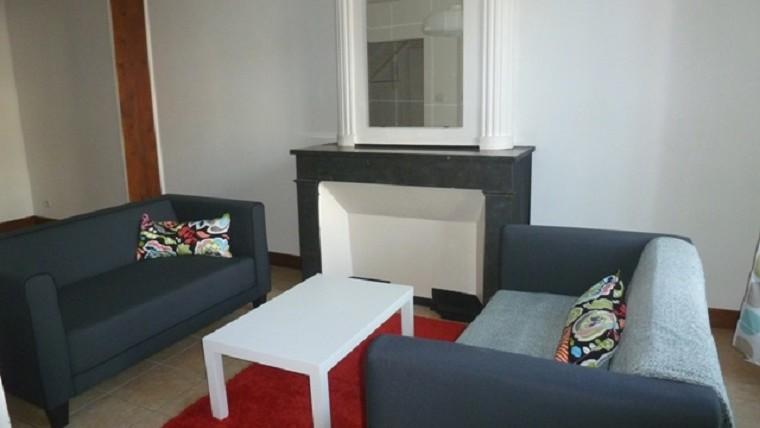 2 pièces avec meubles