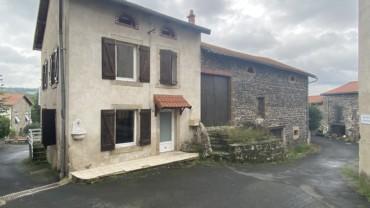 Maison de bourg avec cour Arsac en Velay